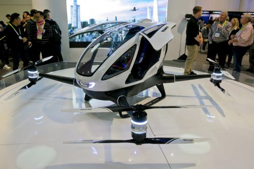 Meet the world's first taxi drone.