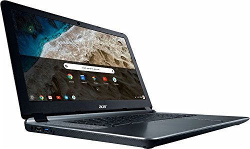 Large screen with all-day battery Chromebook.