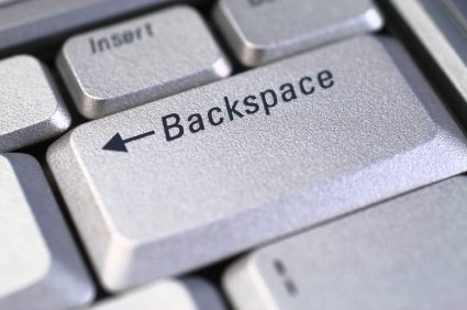 Chrome removes backspace key.