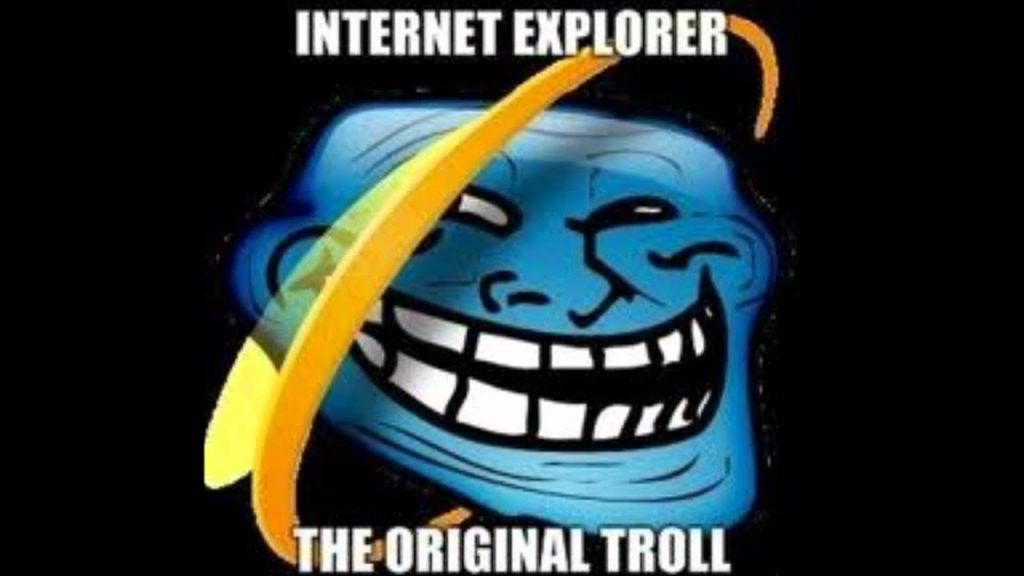 Internet Explorer Chromebook meme.
