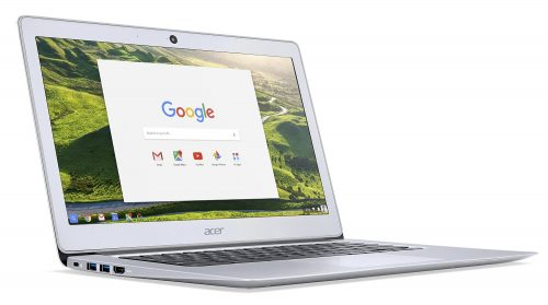 Acer 14 Chromebook shows off its gorgeous big screen.