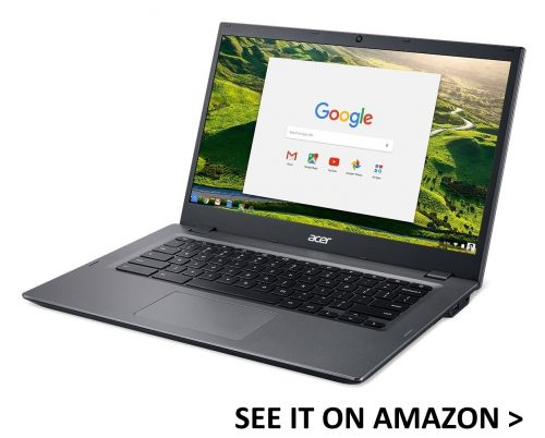 HP 14 Chromebook is a fast laptop with a backlit keyboard.