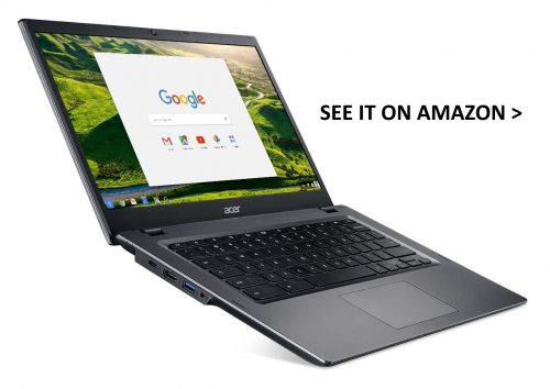 Acer 14 Chromebook for Work Android apps.