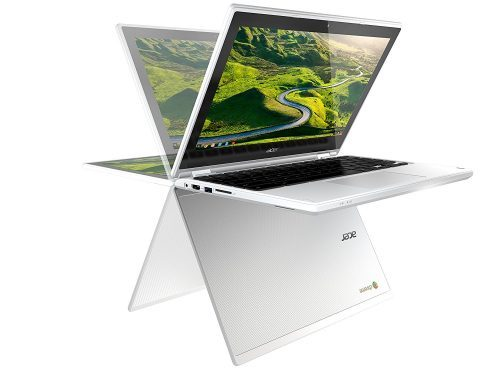 The R11 is a convertible with a bigger screen than the Flip, but similar dimensions overall. It's still tiny.