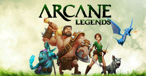 Arcane Legends is one of the best MMORPGs for Chrome OS.