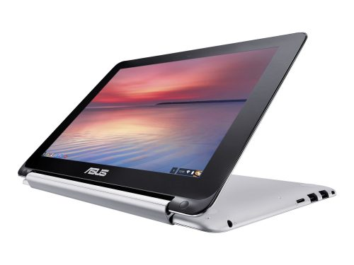 """It's a Chromebook that """"flips"""" around to transform into a tablet. Whoa."""
