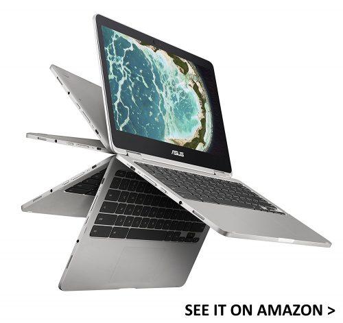 Asus Flip 2 is a convertible backlit keyboard Chromebook.