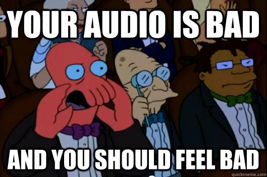 Zoidberg meme poor audio quality- Fix Chromebook microphone.