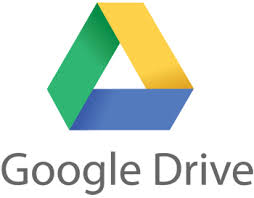 Google Drive for backups.
