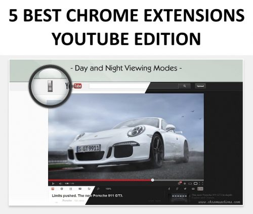 A list of the 5 best Chrome extensions for YouTube.