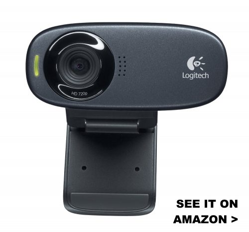The C310 webcam works with Chromebooks and has quality HD video.