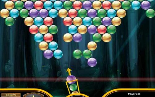 Bubble Shooter Exclusive game.