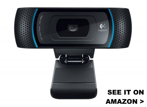 Logitech C910 is one of the best webcams that's compatible with Chromebooks.