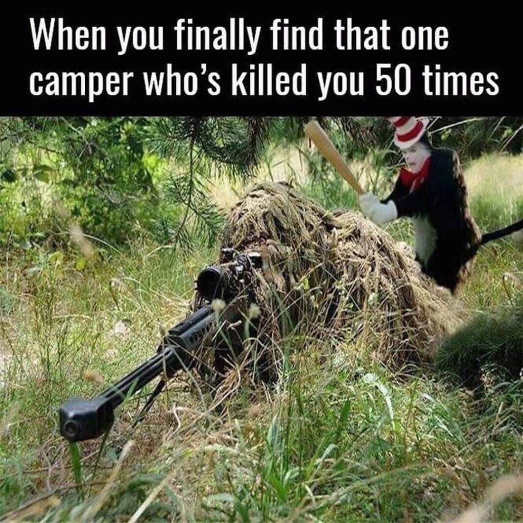 Camper meme.