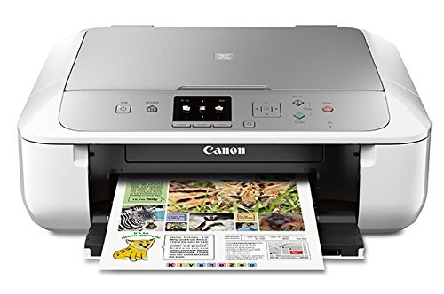 The Canon MX5722 prints from Chrome OS, iOS, Android, macOS, and Chromebooks.
