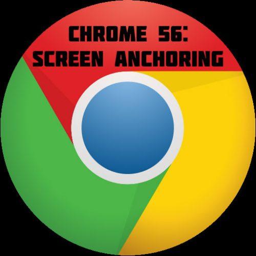 Chrome 56 updates.