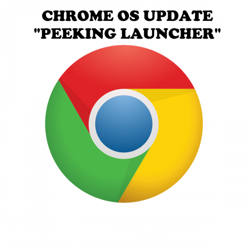 Peeking Launcher update for Chrome OS.