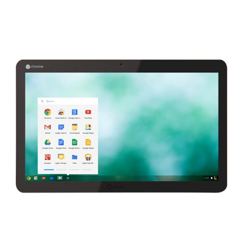 The Chromebase Mini is essentially a smaller version of the Chromebase pictured above.