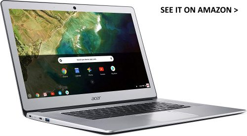 Acer 15 is fully metal.