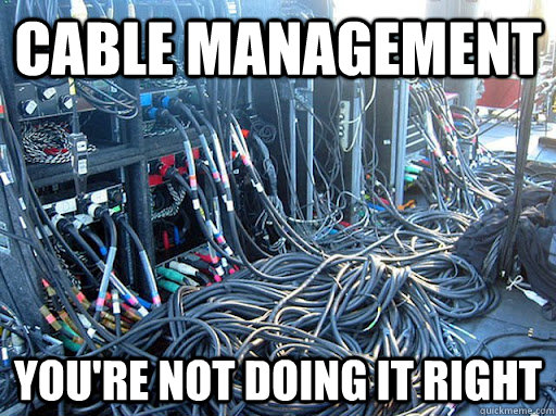 Organizing your Chromebook cables requires cable management.