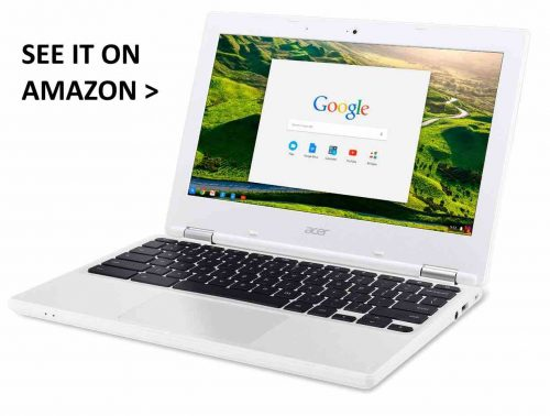 Acer Chromebook for business.