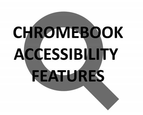 Chromebook accessibility features- invert colors, change font size, change resolution, make things bigger or smaller, enable Night Mode, highlight cursor, make cursor bigger on Chrome OS.