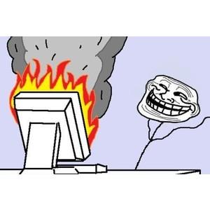 Powerwash Chromebook to fix it troll computer meme.