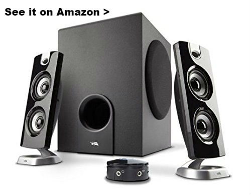 2.1 speaker system for cheap.