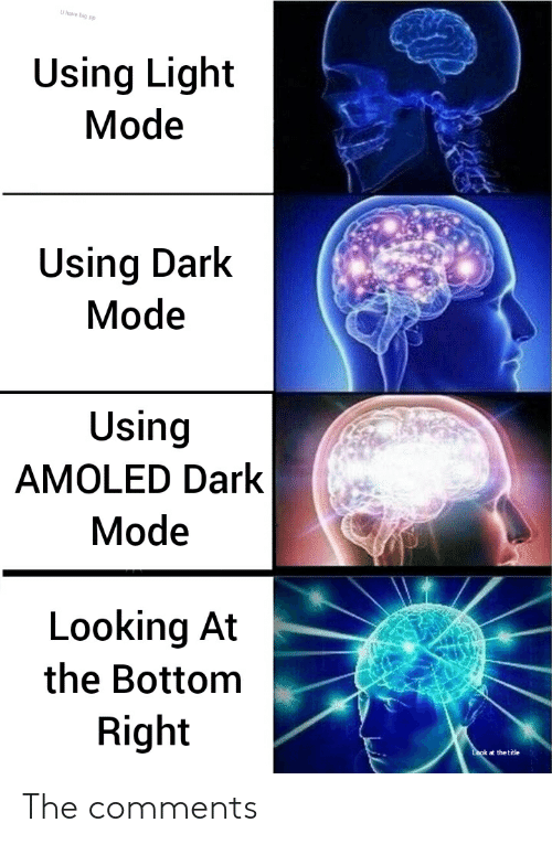 Dark mode Chromebook meme.