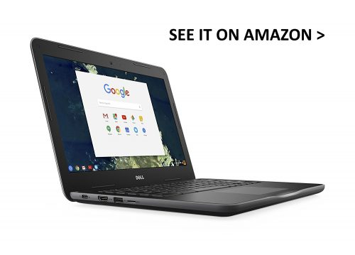 Dell Chromebook 13 is a powerful laptop with a durable build.