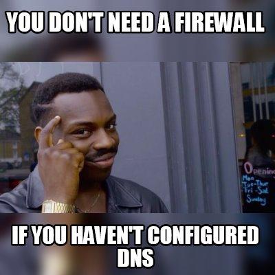 DNS meme.