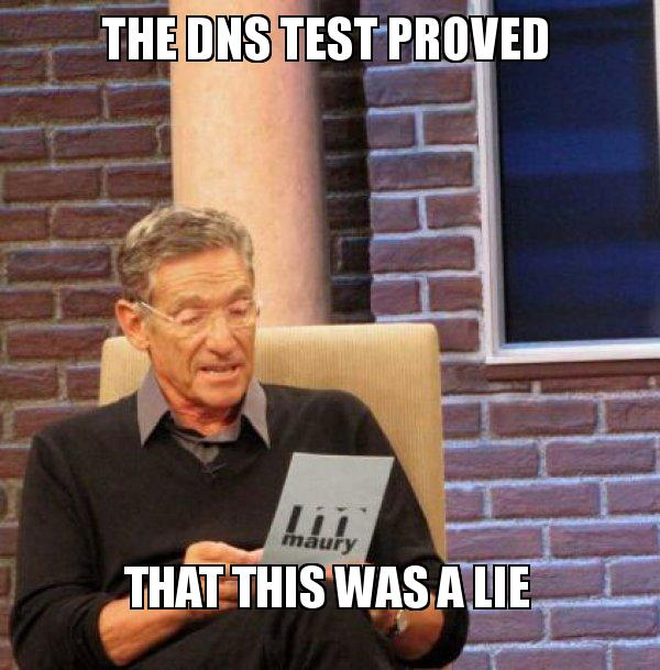 "A ""DNS lookup failed"" Chromebook meme."