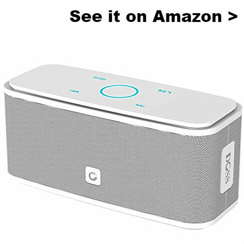 Portable USB speaker for Chromebook.