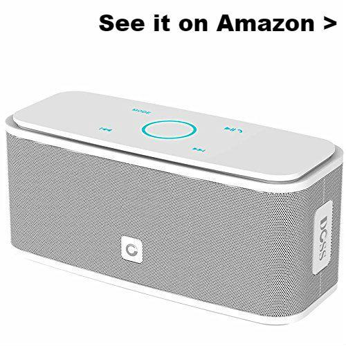 Portable USB speaker for Chromebook.