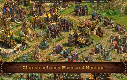 Elvenar is an good strategy game for Chrome OS with nice graphics.