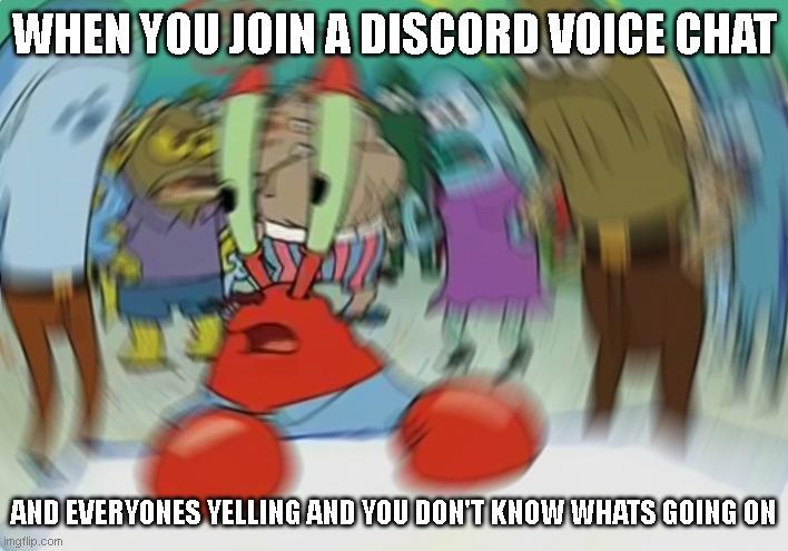 Mr. Krabs Discord meme.