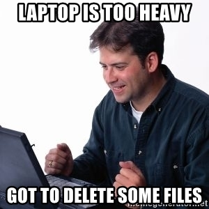 Delete Chromebook before selling meme.