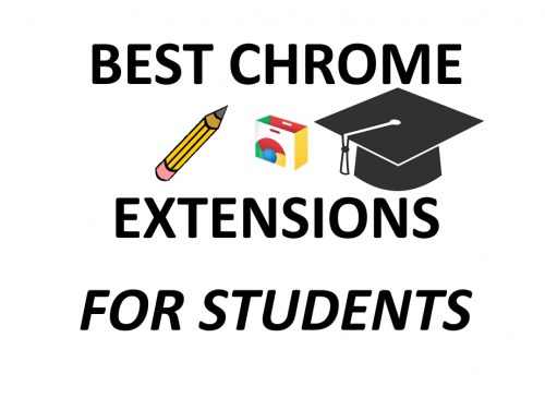10 best essential Chrome extensions for any student!