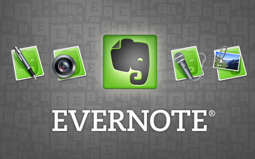Evernote is perfect for taking notes, clipping the web, and researching online.