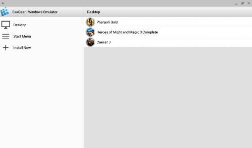 Exagear lets you run Windows on your Chromebook as an emulator.