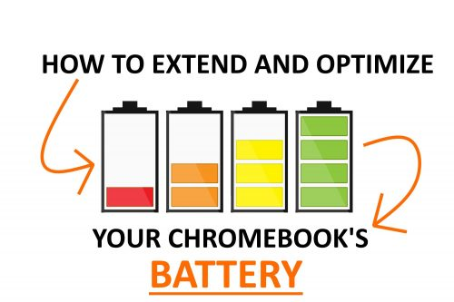 How to extend Chromebook's battery.
