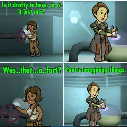 Fallout Shelter funny meme.