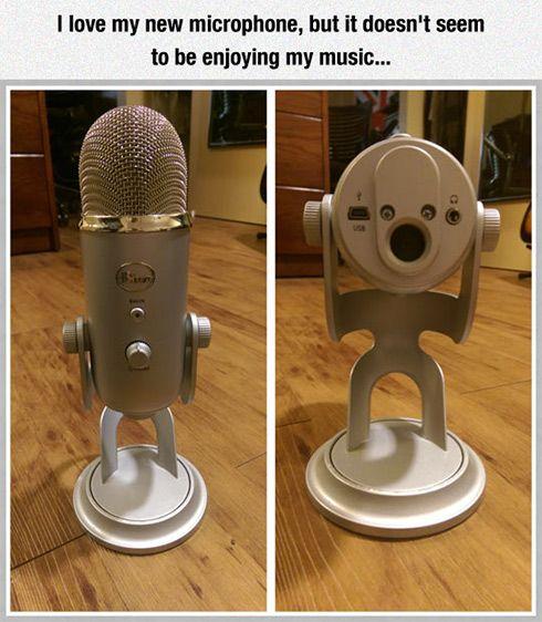A microphone meme - Chromebook microphone not working fix.