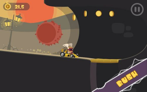 Funky Karts is a platfomer racer game.