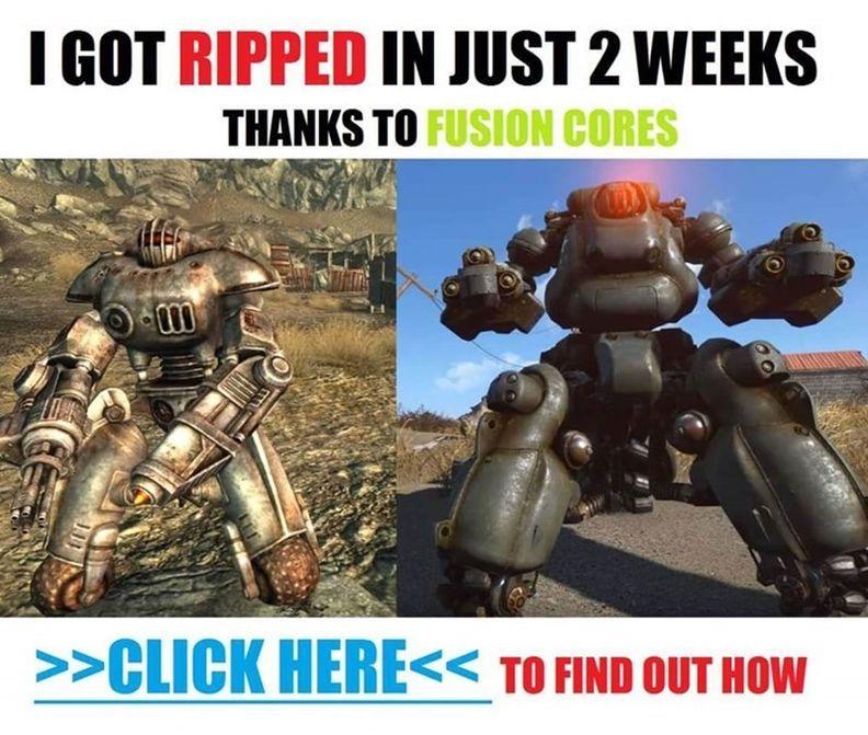 Fusion core meme.