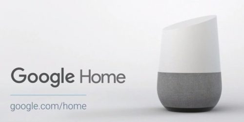 Google Home will be customization with colors and materials.