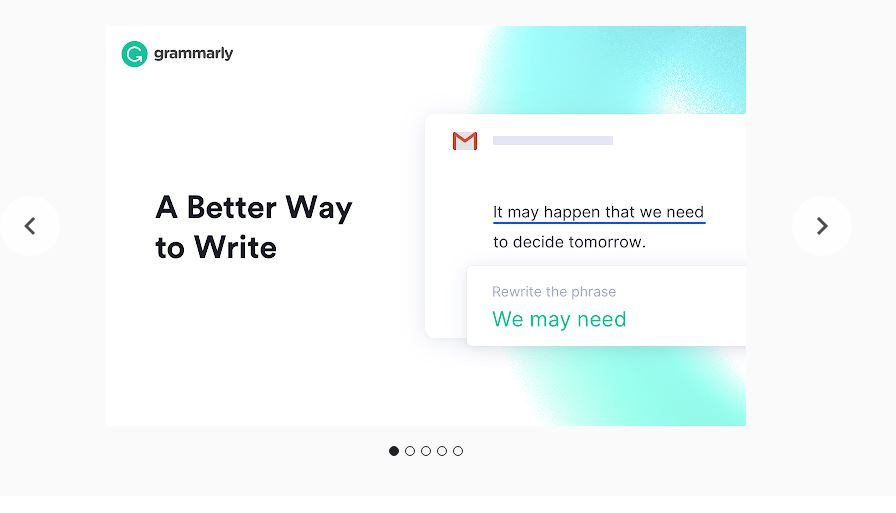 Grammarly for Chromebook.