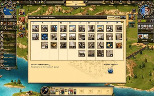 Grepolis is a city-builder game for Chrome.