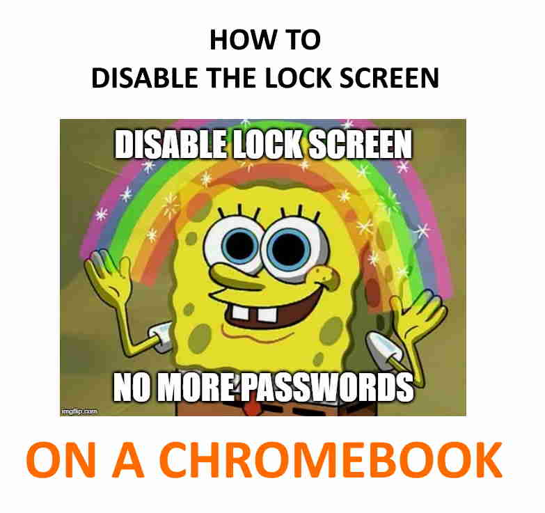 Turning off the lock screen means no more passwords on a Chromebook!
