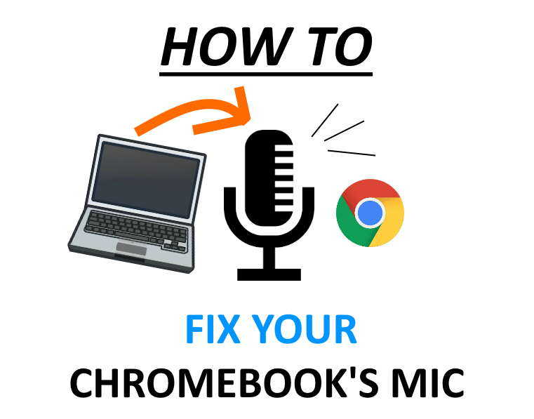 Fix Chromebook microphone.